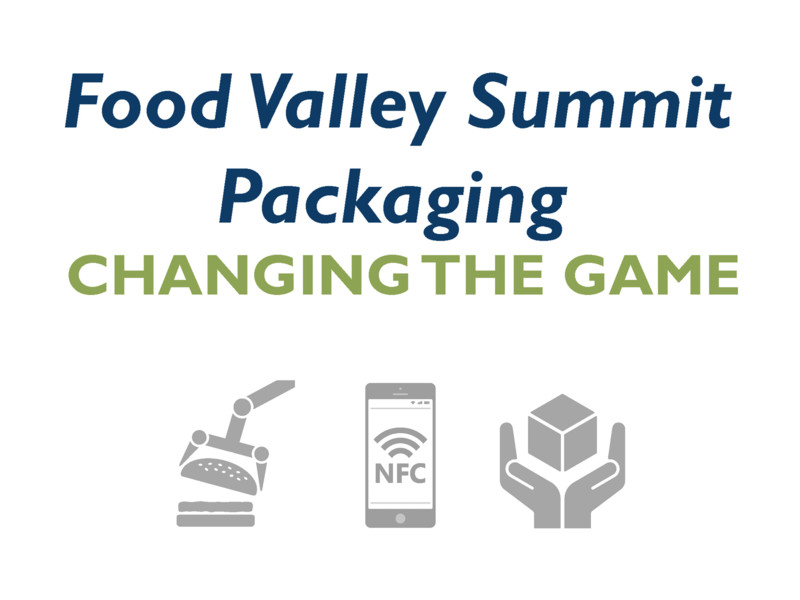 Food Valley Summit Packaging